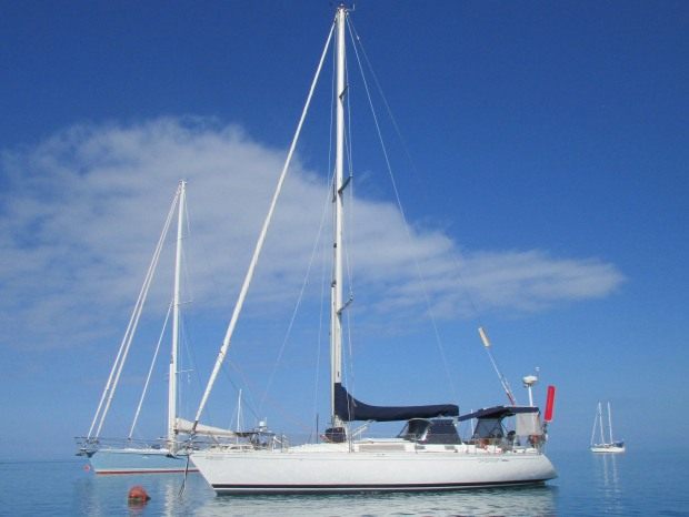 Hydroquest moored in Fiji